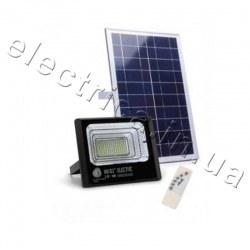 Светодиодный прожектор LED SMD 10W солнечная батарея