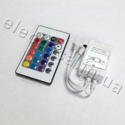 Контроллер 6A IR 24 кн RGB №21