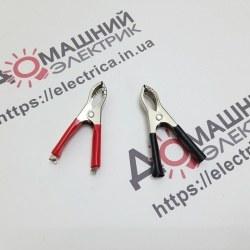 Затиск акумуляторний червоний + чорний 30А