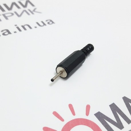 Штекер живлення 2,0/0,5 пластик 9мм (new Nokia)