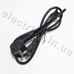 """Кабель питания 3 pin С5 IEC 60320 (""""Микки Маус"""", медь) 1,8 метра"""