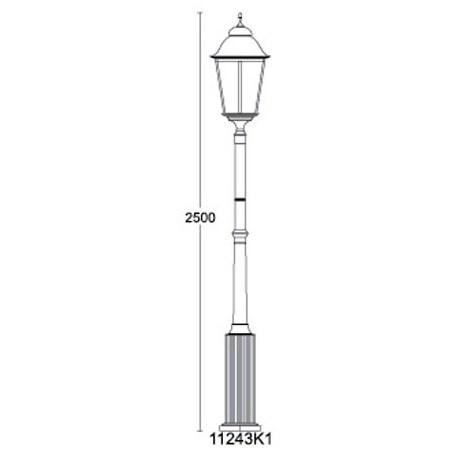 Светильник Munich QMT 11243K1