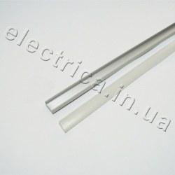 LED Профиль 2 м накладной с рассеивателем 16*7*2000