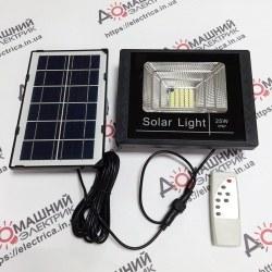 Светодиодный прожектор LED SMD 25W солнечная батарея