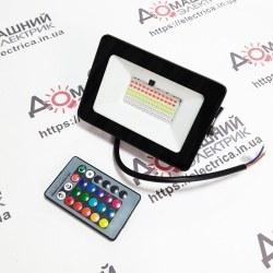 Светодиодный прожектор LED 30W RGB
