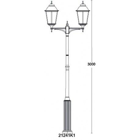 Светильник Munich QMT 21241K1
