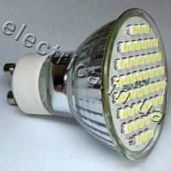 Светодиодная лампа 220В GU10 60x3528 эконом
