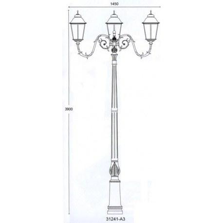 Светильник Munich QMT 31241A3