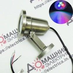 Подводный светильник LED 1803 для бассейнов без контроллера