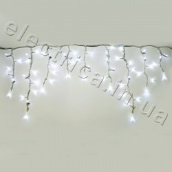 Гирлянда DELUX ICICLE 126LED 2x0.9m 40 flash внешняя