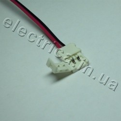Штекер для ленты 8мм соединитель-провод