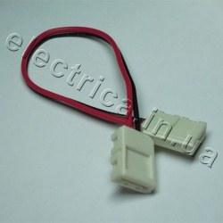 Штекер №5 для ленты 8мм соединитель-провод-соединитель