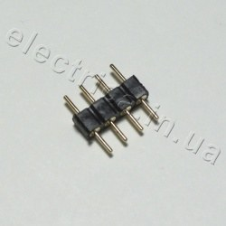 Штекер для ленты RGB DIP M-M