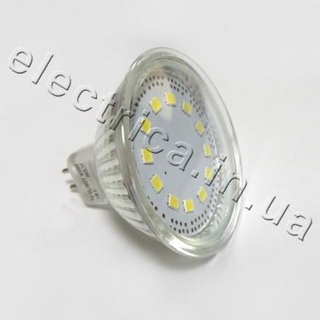 Светодиодная лампа DELUX 3W MR16 220В