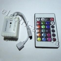 Контроллер 6A IR 24 кн RGB музыкальный