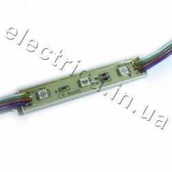 Светодиодный модуль М5050-3 RGB