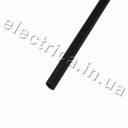 Термоусадочная трубка с клеем 3,2/1,0 мм черная