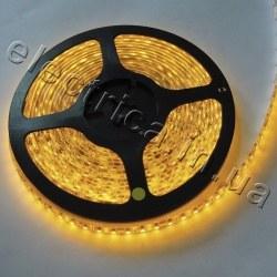 Светодиодная лента SMD 3528-120 эконом желтая (влагозащита)