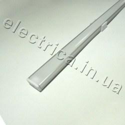 LED Профиль 1 м накладной с рассеивателем 18*7*1000