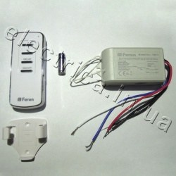 Дистанционный выключатель FERON TM72 1000W 30M