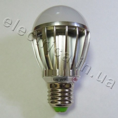 Светодиодная лампа 220В E27 5 Вт BULB
