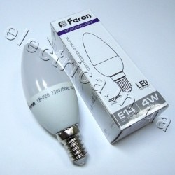 Светодиодная лампа FERON LB-720 Е14 4W 220В