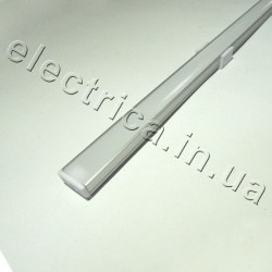 LED Профиль 2 м накладной с рассеивателем 18*7*2000