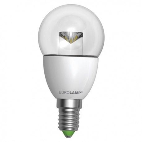 EUROLAMP LED Лампа ЕКО G45 5W E14 (прозора)