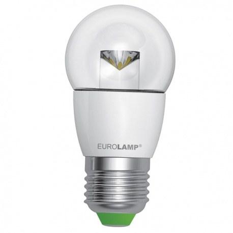 EUROLAMP LED Лампа ЕКО G45 5W E27 (прозора)