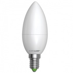 EUROLAMP LED Лампа ЕКО Свеча 6W E14
