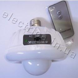 Фонарь лампа YJ-9816, 20+24SMD, пульт Д/У