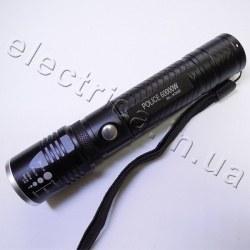 Фонарь Police 12v X302 XPE+ультрафиолет zoom