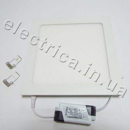 Светильник точечный светодиодный SLIM квадратный