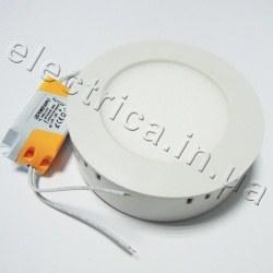 Светильник НАКЛАДНОЙ 6 Вт металл круглый точечный светодиодный