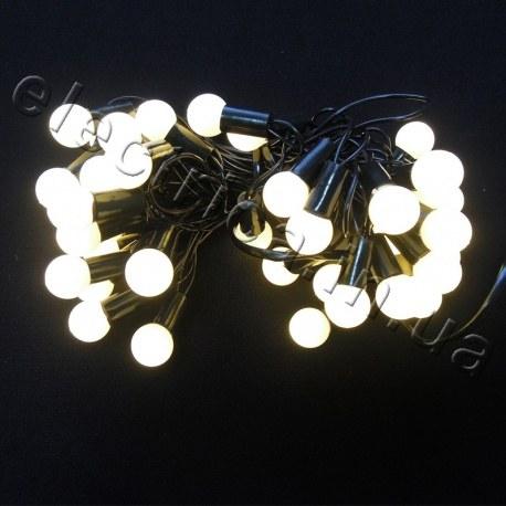 Светодиодная гирлянда Шарики внутренняя 40 светодиодов