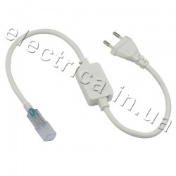 Вилка-провод для светодиодной ленты FLEX 3528/5050/3014/5730 220V IP65