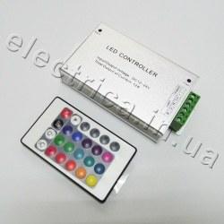 Контроллер 12A RF RGB 24 кнопки