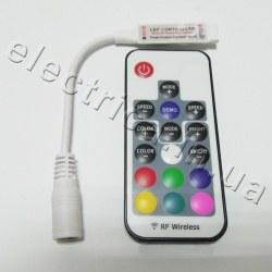 Контроллер mini 6А RGB 17 кн радио