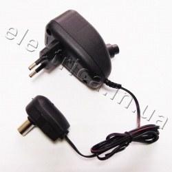 БП 220V/2-12V/0,1А для антенного усилителя регулированный