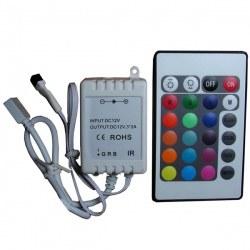 Контроллер 6A IR 24 кн RGB