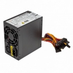 Блок питания LogicPower ATX 400W, fan 8см, 2 SATA, black