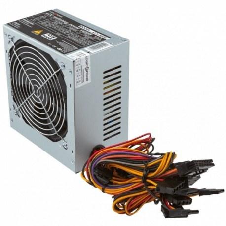 Блок питания LogicPower ATX 500W, fan 12см, 4 SATA, CE,FCC, PCI DX2 6PIN+2PIN