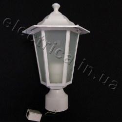 Светильник парковый DELUX PALACE A03 белый 60 Вт E27 (10103971)