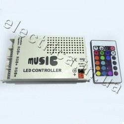 Контроллер 9A IR 24 кн RGB аудио музыкальный