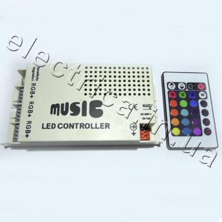 Контроллер 9A IR 24 кн RGB аудио