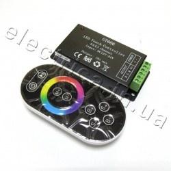 Контроллер 18A RF 8 кн RGB сенсор черный