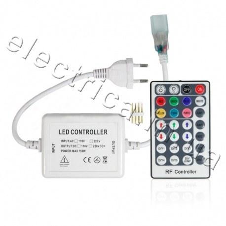 Контроллер 750W RF 28 кн для светодиодной ленты FLEX 5050 RGB 220 V