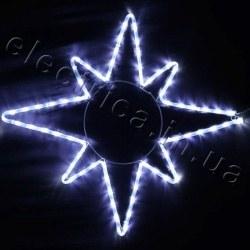 Световое украшение DELUX мотив STAR (восьмиконечная звезда) flash