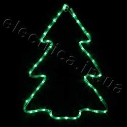 Световое украшение DELUX мотив CHRISTMAS TREE flash