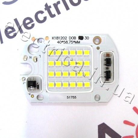 Светодиодная матрица 30Вт с драйвером